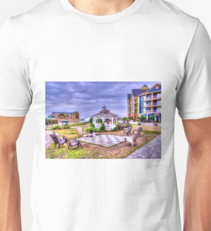 Gazebo at Blue Mountain  Unisex T-Shirt