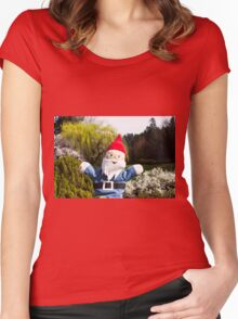 Landscape Gnome Women's Fitted Scoop T-Shirt