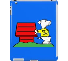 PIT COOL PIT BULL LOGO BY URB SUB iPad Case/Skin