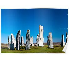 The Callanish standing stones Poster