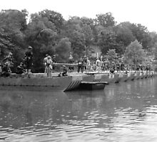 PONTOON BRIDGE by © Brady-Hughes- Beasley Archives