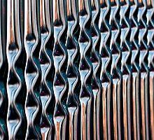 Railings Vertical by Stephen Knowles