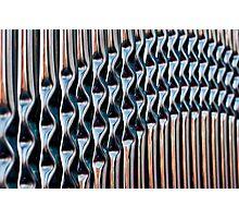 Railings Vertical Photographic Print