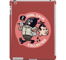 Cool, Calm, Collected (Official) iPad Case/Skin