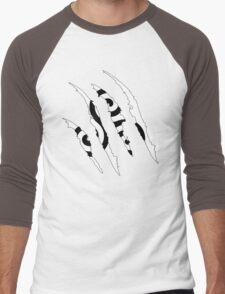 Ripped triskelion Men's Baseball ¾ T-Shirt