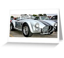 Classic Cobra Hot Rod Greeting Card