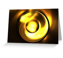 Solar Lens Greeting Card