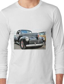 Classic Black Studebaker Long Sleeve T-Shirt