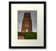 Glastonbury Tor HDR Framed Print