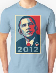 Obama 2012 Election Poster T-Shirt T-Shirt
