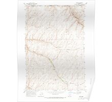 USGS Topo Map Oregon Ring 281272 1966 24000 Poster