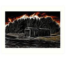 Hellfire Barn Art Print