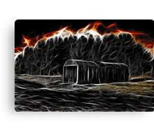Hellfire Barn Canvas Print
