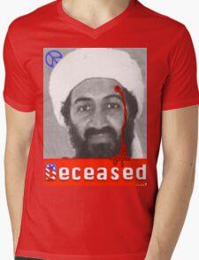 no mo osama Mens V-Neck T-Shirt