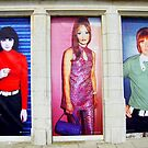 Mod fashion posters by Jasna