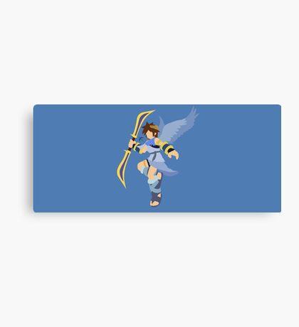 Pit (Blue) - Super Smash Bros. Canvas Print