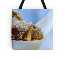Cereal in a spoon Tote Bag