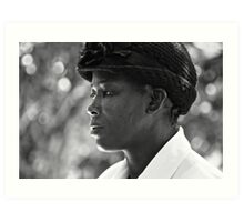 strength & humility - the jamaican woman. Art Print