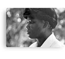 strength & humility - the jamaican woman. Metal Print