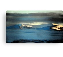 Kenneday Peak Snowy Sunrise Canvas Print