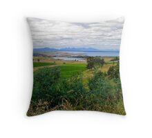 Swansea, Tamania Throw Pillow