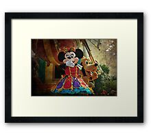 Kisses from Minnie Framed Print