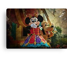 Kisses from Minnie Canvas Print