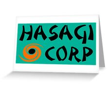 Hasagi Corporation by Yasuo Greeting Card
