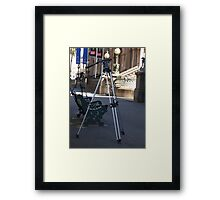 Lost ! Photographers! Framed Print