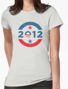Obama 2012 Election T-Shirt Womens Fitted T-Shirt