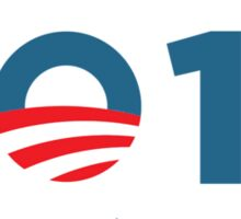 Obama 2012 Election T-Shirt Sticker
