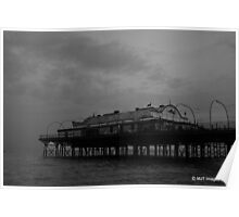 Cleethorpes Pier, UK.  Poster