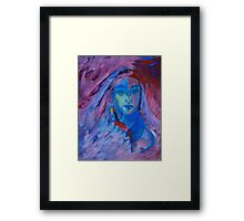Young Hippie Framed Print