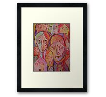 You Cannot Help Us Framed Print