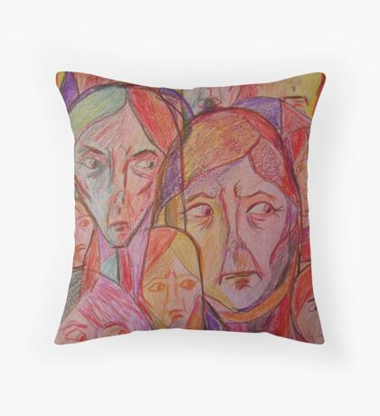 You Cannot Help Us Throw Pillow