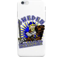 Sweden Is My Country iPhone Case/Skin