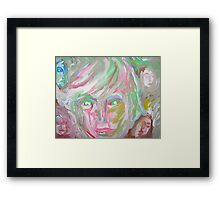 Who Are They? Framed Print