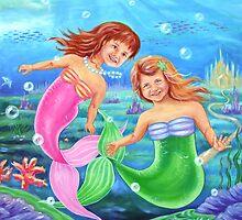 Little Mermaids by Ira Mitchell-Kirk