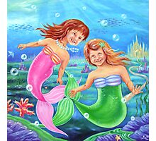 Little Mermaids Photographic Print