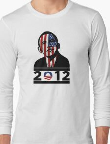 Obama 2012 Election American T-Shirt Long Sleeve T-Shirt