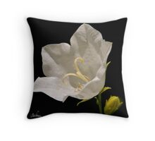 A white flower for a wedding ! Throw Pillow