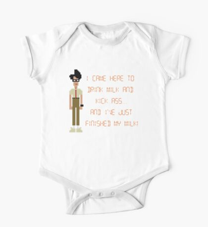The IT Crowd – I Came Here to Drink Milk and Kick Ass One Piece - Short Sleeve