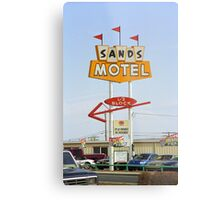 Route 66 Sands Motel Metal Print