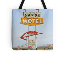 Route 66 Sands Motel Tote Bag