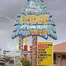 Route 66 - Blue Spruce Lodge by Frank Romeo