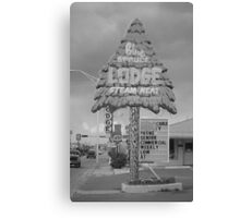 Route 66 - Gallup, New Mexico Canvas Print