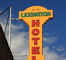 Route 66 - Lexington Hotel by Frank Romeo
