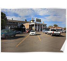 Route 66 - El Rancho Hotel Poster