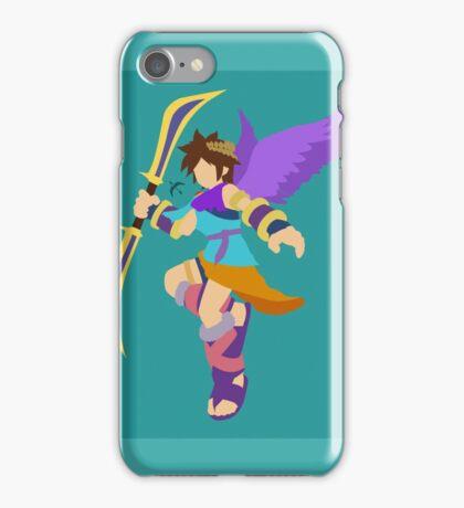 Pit (Cyan) - Super Smash Bros. iPhone Case/Skin