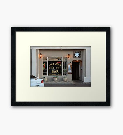 Route 66 Hotel - Williams, Arizona Framed Print